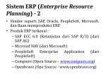 sistem erp enterprise resource planning 2