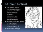 cut paper portrait3