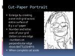 cut paper portrait4