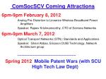 comsocscv coming attractions