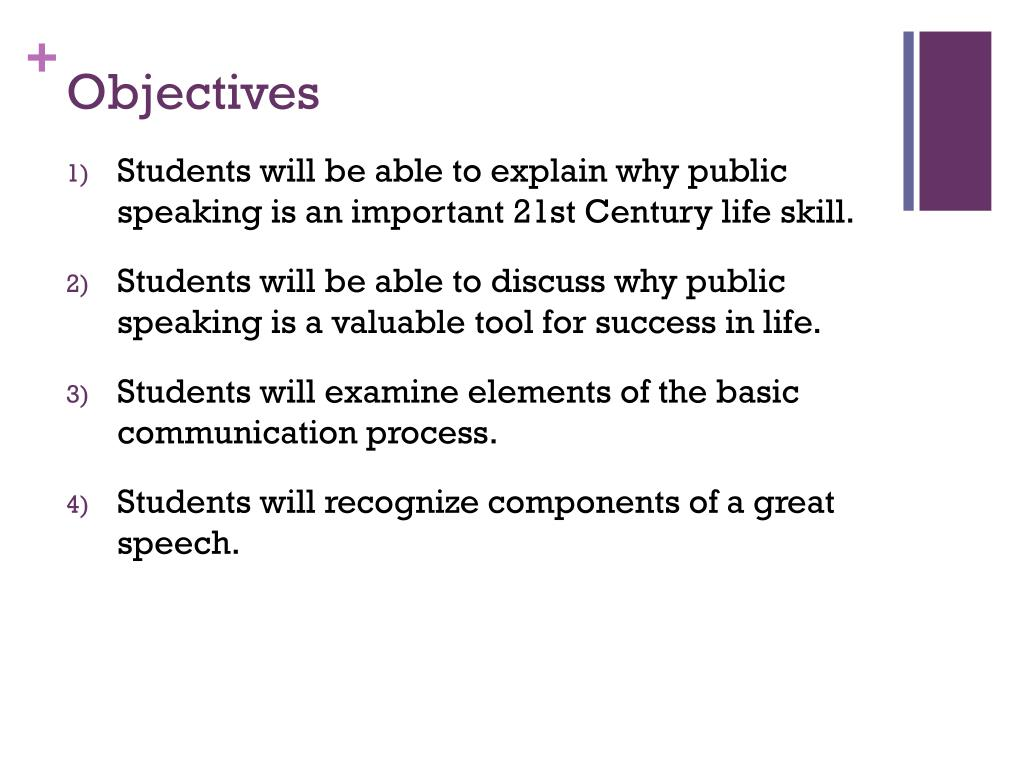elements of the speech communication process