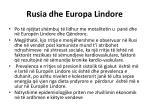 rusia dhe europa lindore1