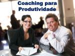 coaching para produtividade