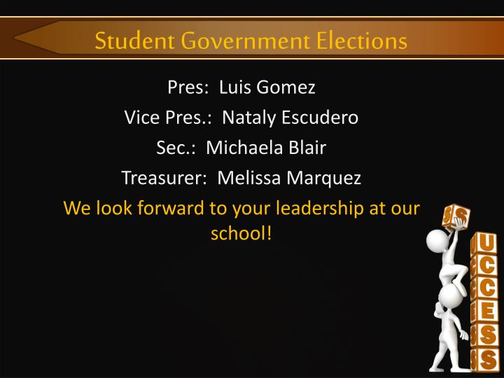 Student Government Elections
