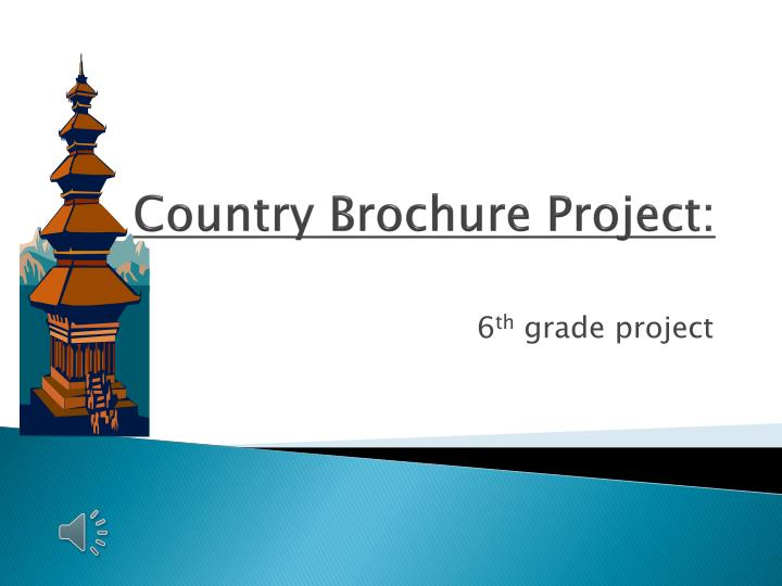 country brochure project n.