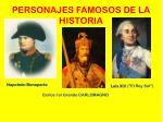 personajes famosos de la historia