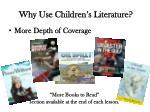 why use children s literature2