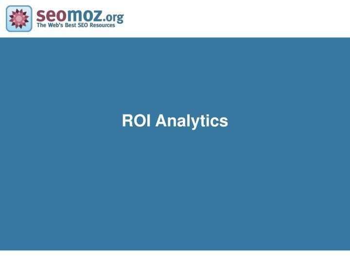 ROI Analytics