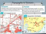 topographic thematic