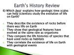 earth s history review1