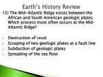 earth s history review10