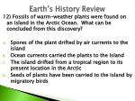 earth s history review7