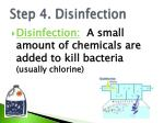 step 4 disinfection