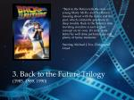 3 back to the future trilogy 1985 1989 1990