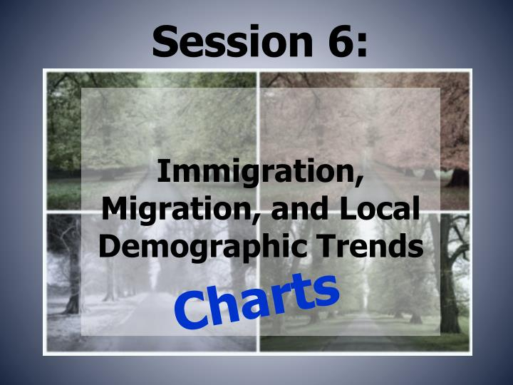 Immigration migration and local demographic trends