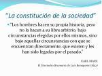 la constituci n de la sociedad
