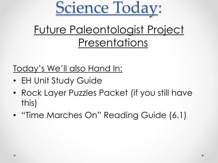 science today n.