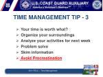 time management tip 3