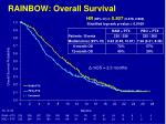 rainbow overall survival
