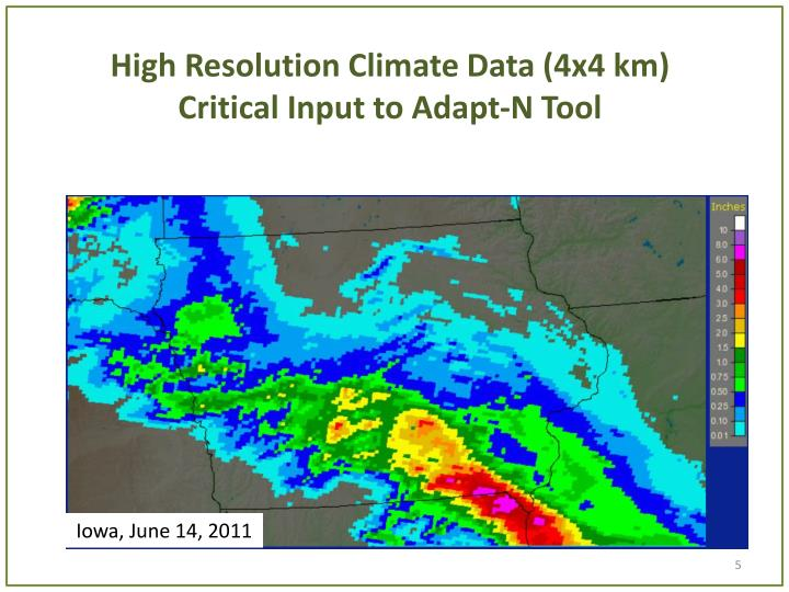 High Resolution Climate Data (4x4 km)