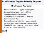 new program foundation
