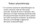today s physiotherapy