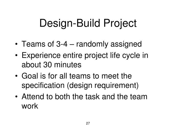 Design-Build Project