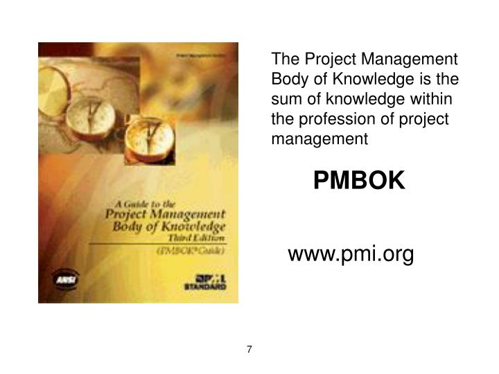 The Project Management