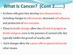 what is cancer cont 2