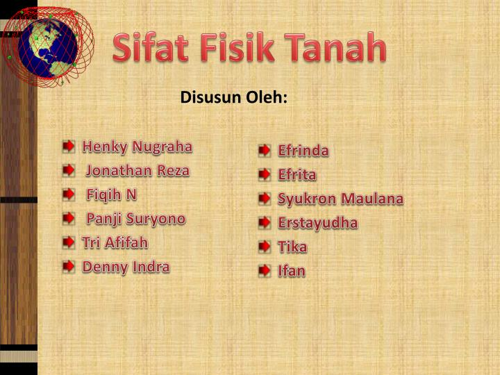Ppt sifat fisik tanah powerpoint presentation id6496476 sifatfisik tanah ccuart Gallery