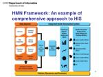 hmn framework an example of comprehensive appraoch to his