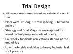 trial design1