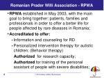 romanian prader willi association rpwa