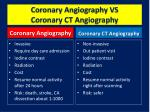 coronary angiography vs coronary ct angiography