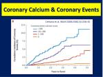 coronary calcium coronary events