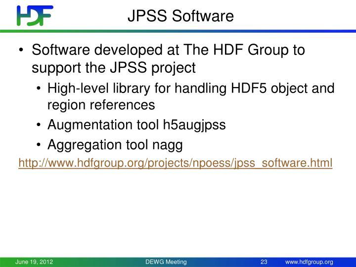 JPSS Software