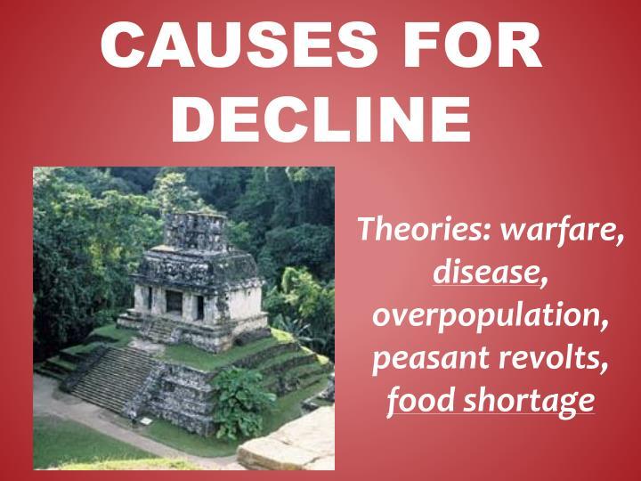 Theories: warfare,