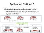 application partition 21