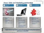 focus sales and marketing partnership
