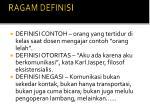 ragam definisi1
