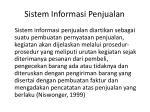 sistem informasi penjualan