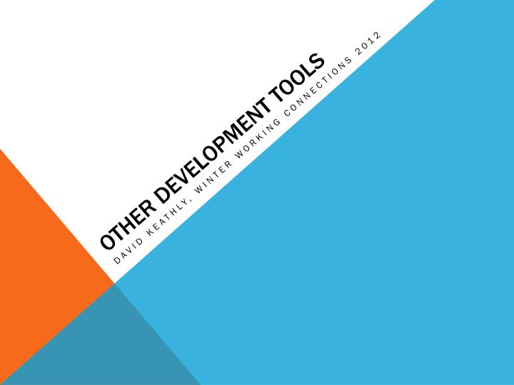 other development tools n.