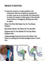 brace position