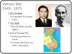 vietnam war 1945 1975