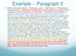 example paragraph 2