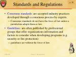 standards and regulations4