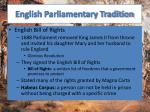 english parliamentary tradition2