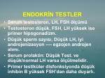 endokr n testler