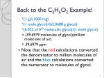 back to the c 2 h 6 o 2 example2