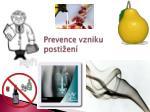 prevence vzniku posti en